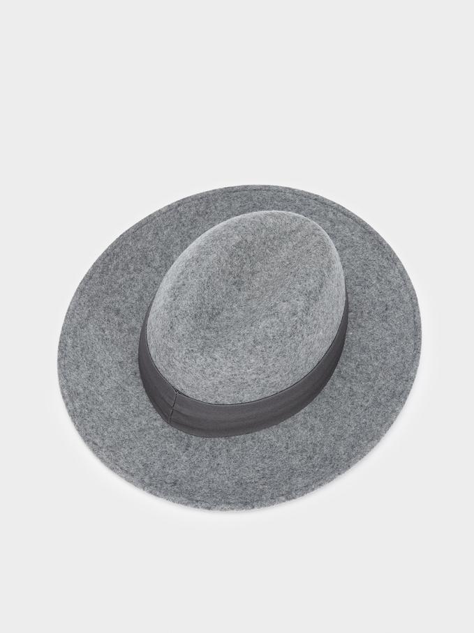 Wool Hat, Grey, hi-res