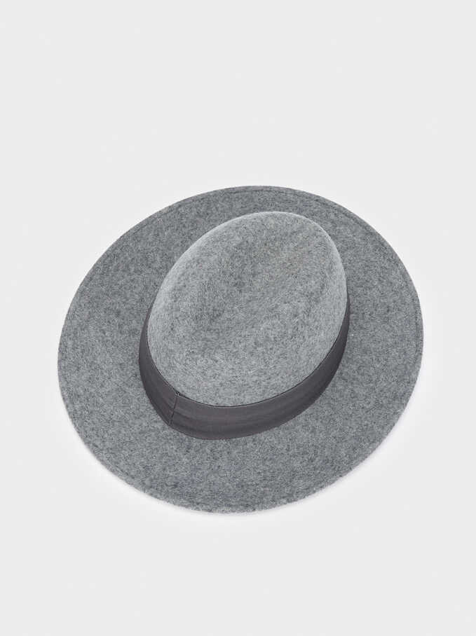 Sombrero De Lana, Gris, hi-res