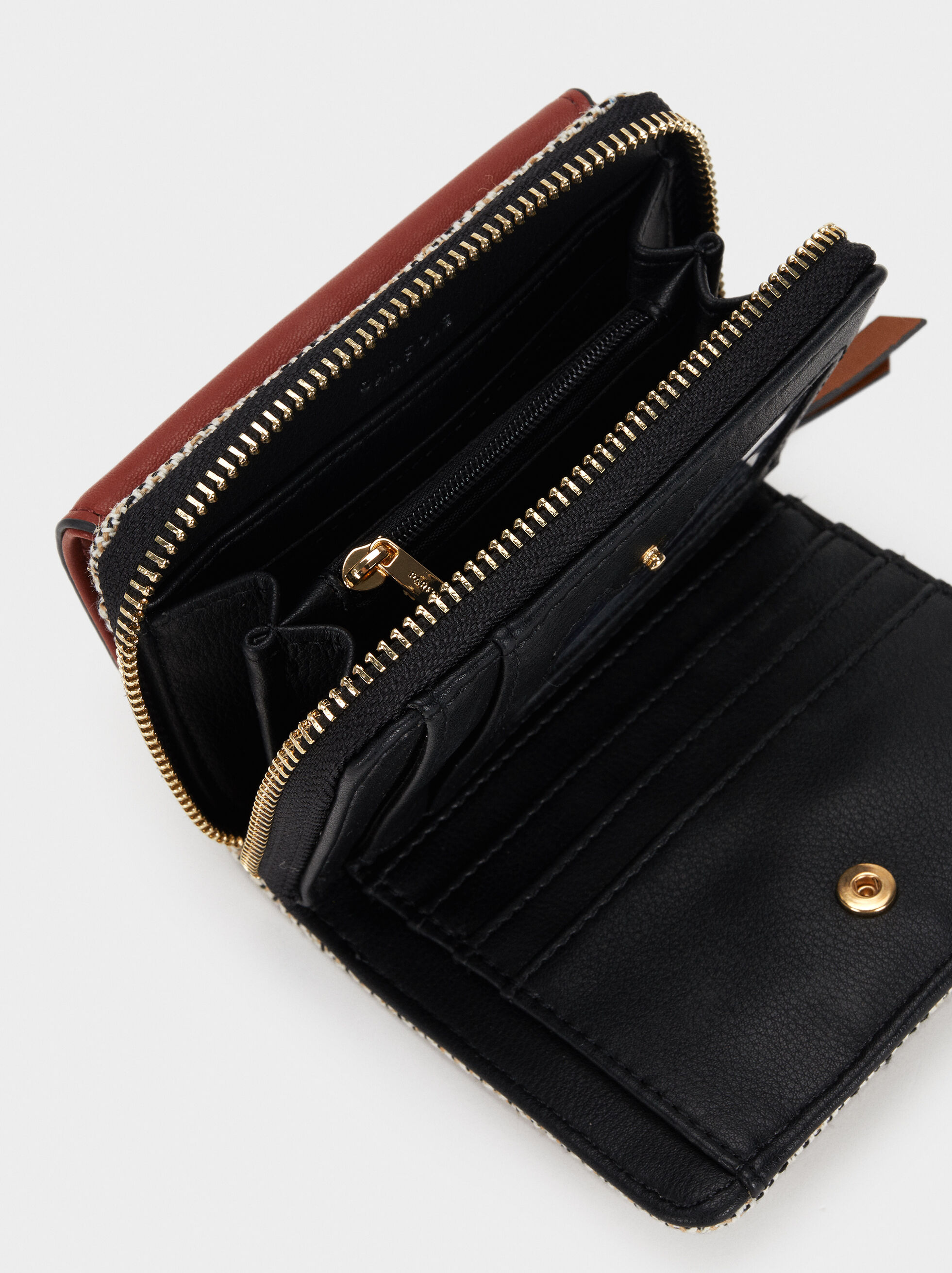 Elisa Wallet, Brick Red, hi-res