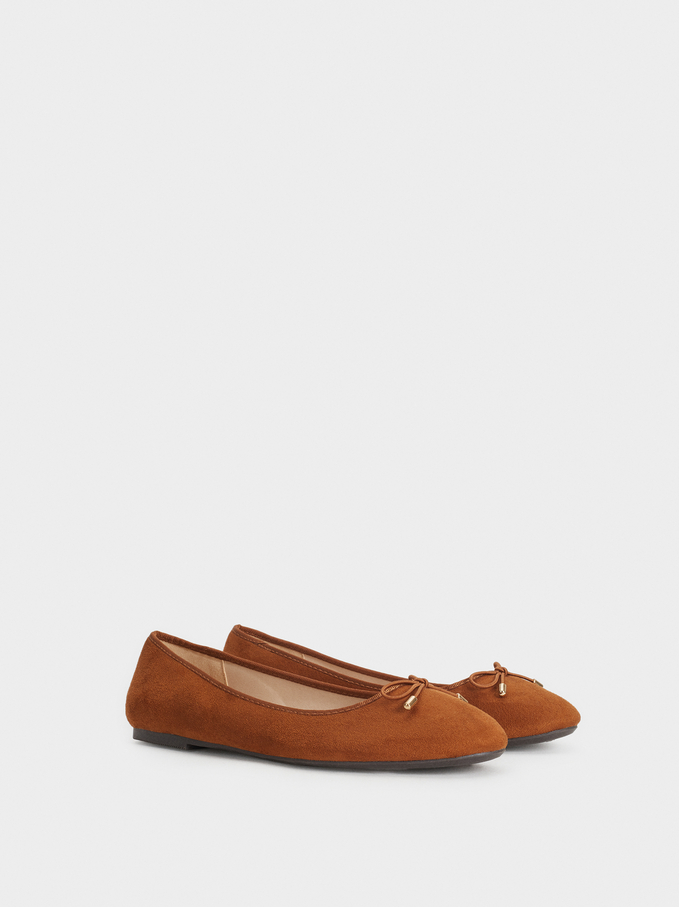 Ballerines Online Exclusive, Camel, hi-res