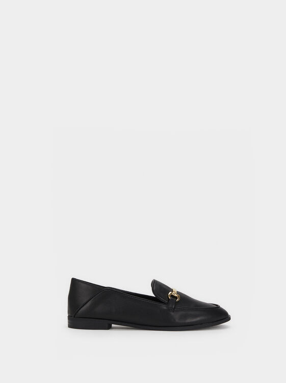 Loafers With Metal Detail, , hi-res