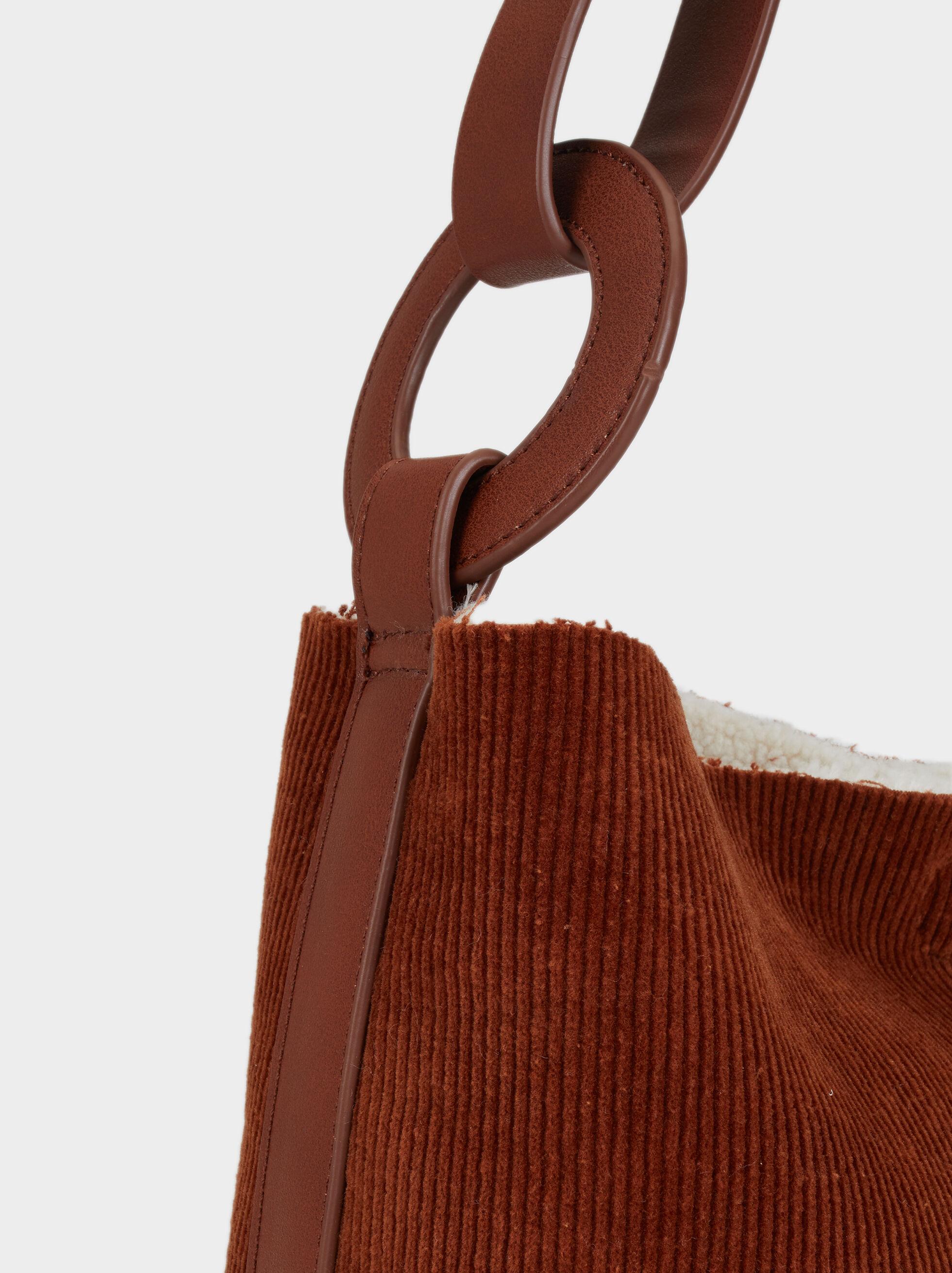 Reversible Crossbody Bag, Camel, hi-res