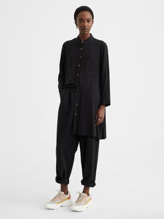Shirt Dress With Pocket, , hi-res