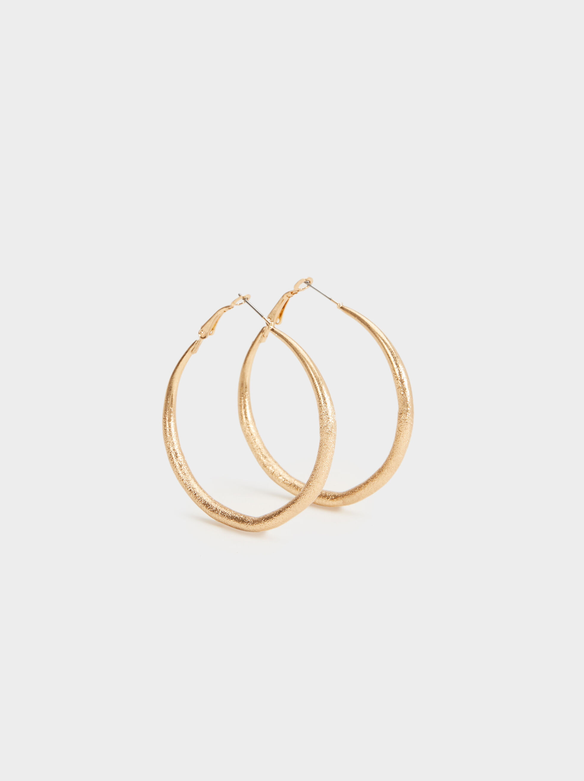 Hoop Fever Large Rhinestone Hoop Earrings, , hi-res
