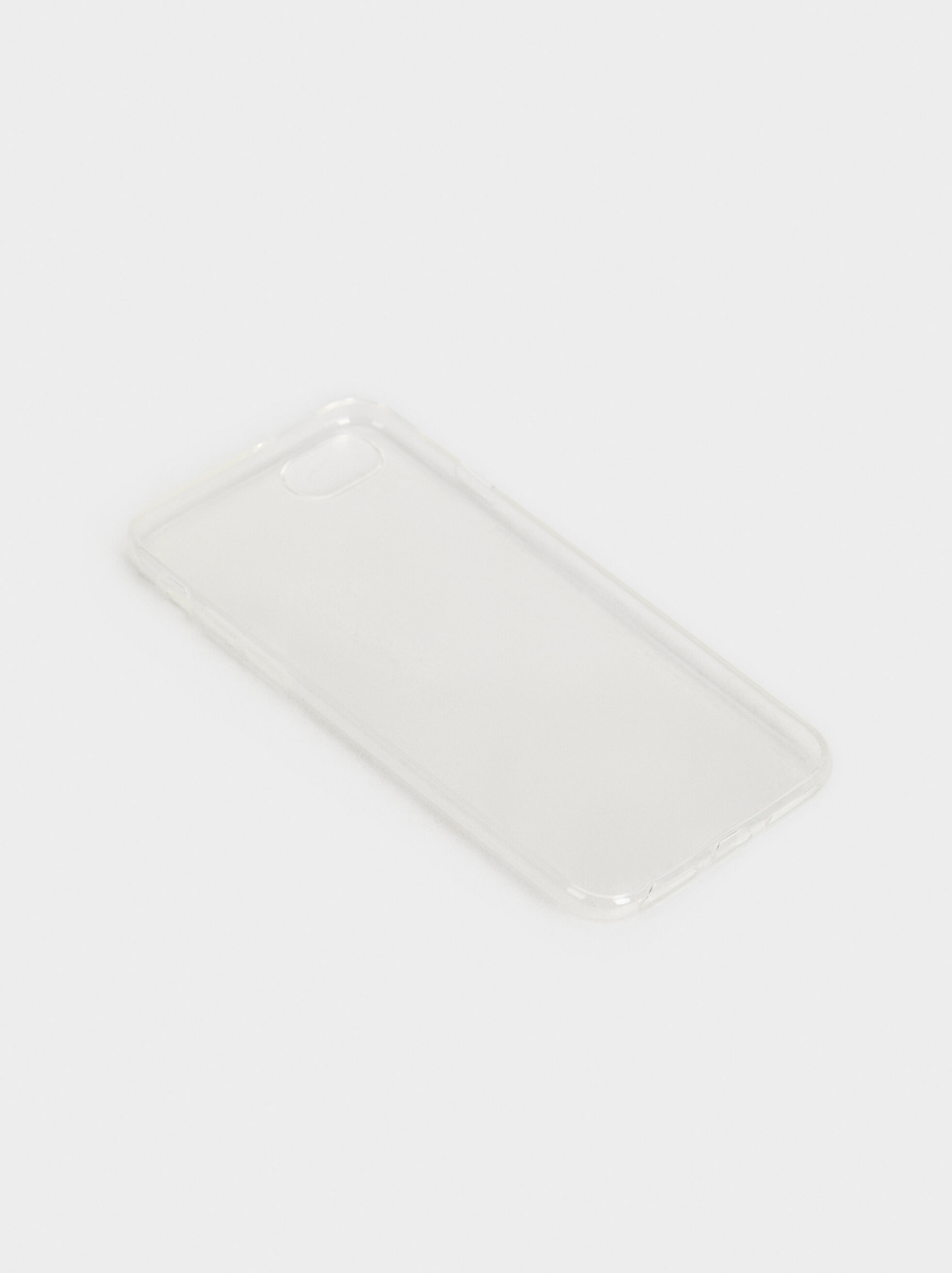 Transparent Iphone 6/7/8 Case, Grey, hi-res