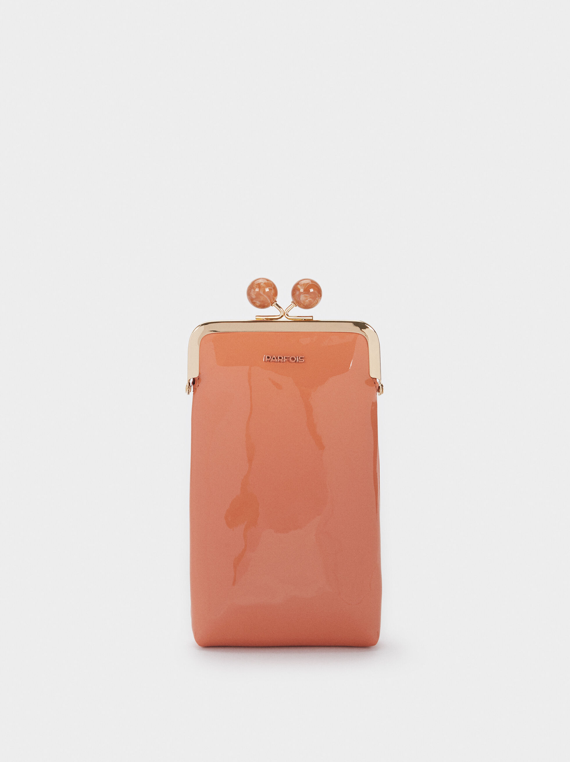 Patent Phone Case, Coral, hi-res
