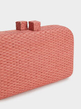 Dalle Party Clutch, Brick Red, hi-res