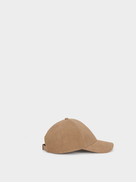 Basic Cap, Brown, hi-res