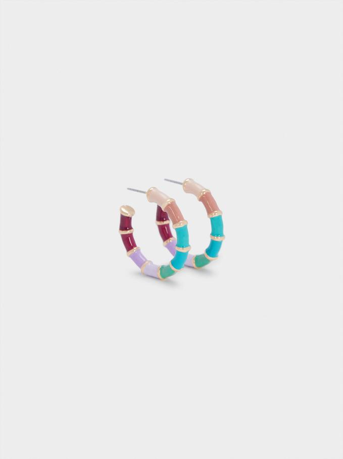 Multicoloured Earrings, Multicolor, hi-res