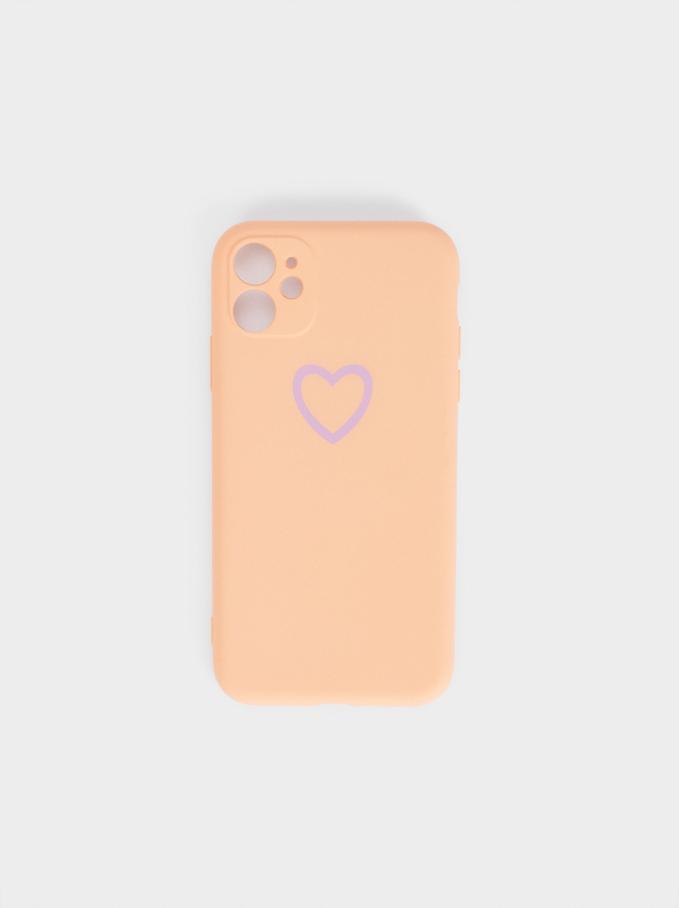 Iphone 12 Phone Case, Pink, hi-res