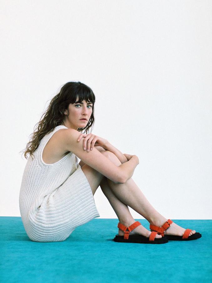 Sukienka Z Dzianiny Limited Edition, Ecru, hi-res