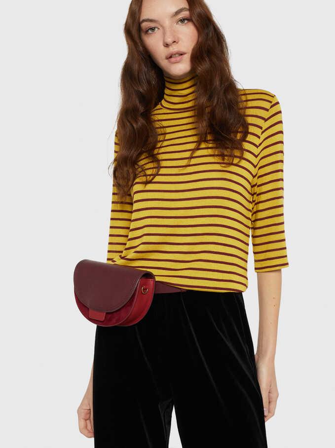 Stripes T-Shirt, Yellow, hi-res