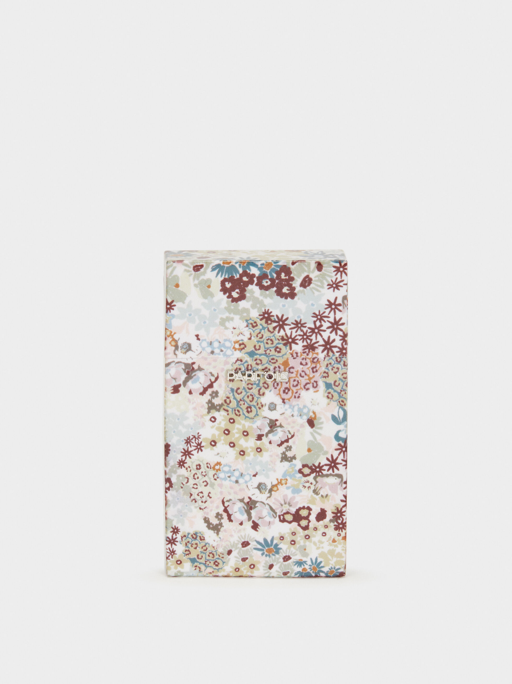 Floral Print Slim Cigarette Box, , hi-res