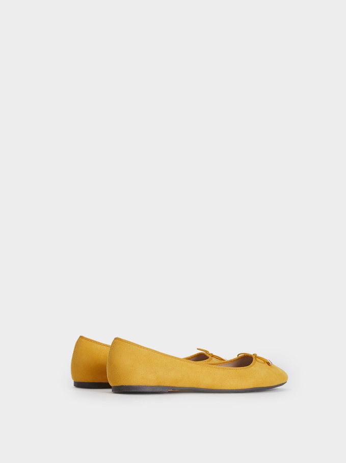 Ballerines Limited Edition, Moutarde, hi-res