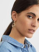 Creme Medium Earrings, Multicolor, hi-res
