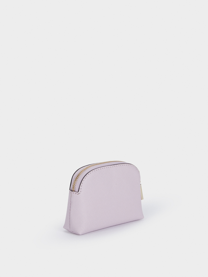 Zipped Purse, Violet, hi-res