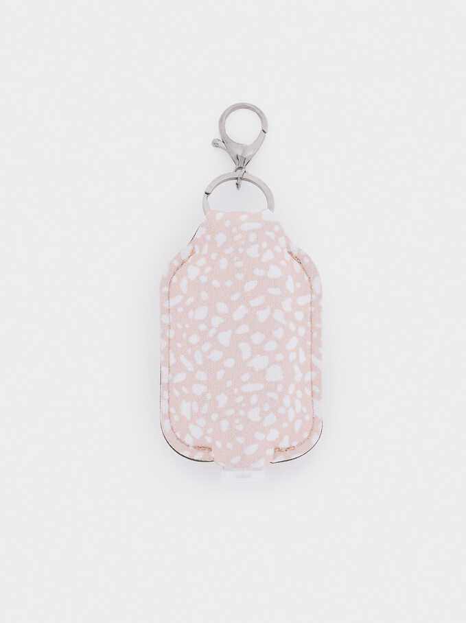 Hand Sanitizer Holder, Pink, hi-res