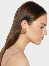 Party Medium Earrings, Pink, hi-res