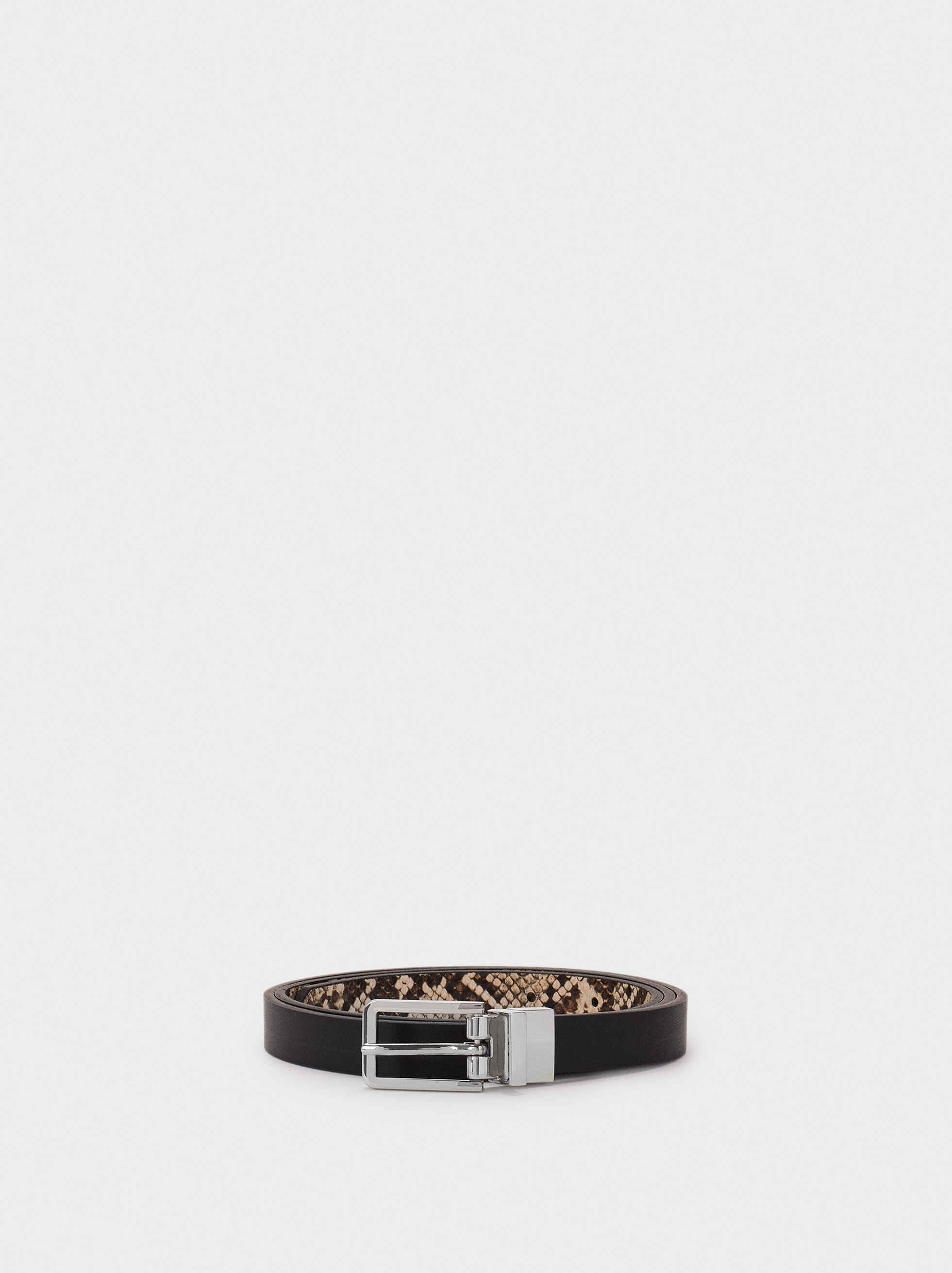 Reversible Belt, Black, hi-res