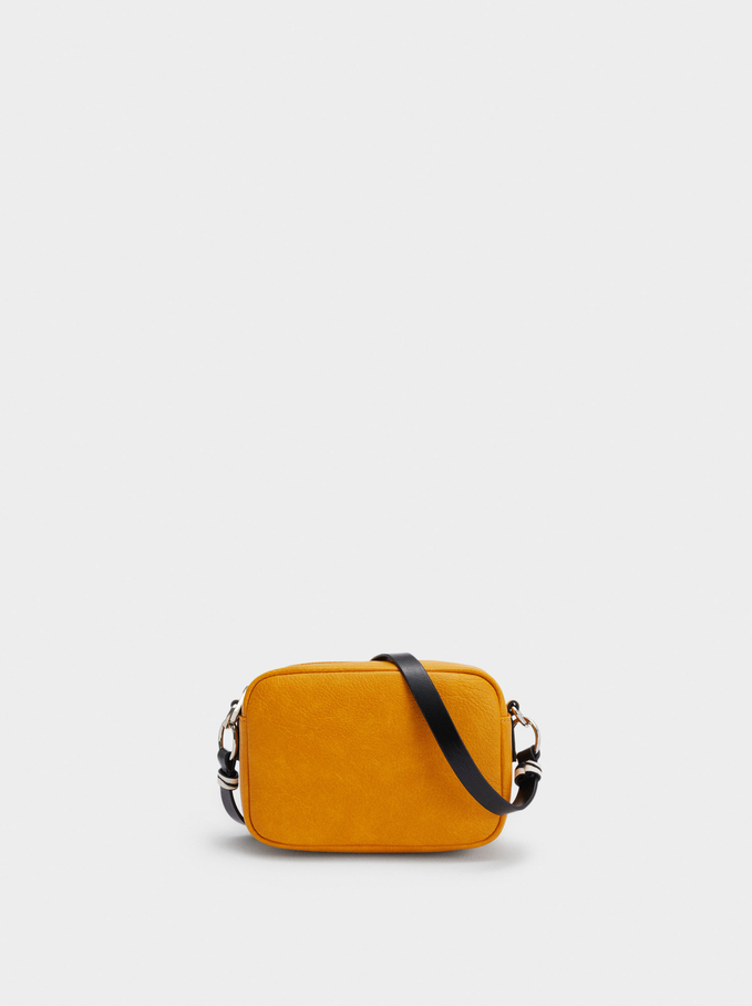 Crossbody Bag With Multiway Strap, Yellow, hi-res