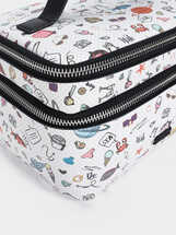 Bolso Multiusos Estampado Multicolor, Negro, hi-res