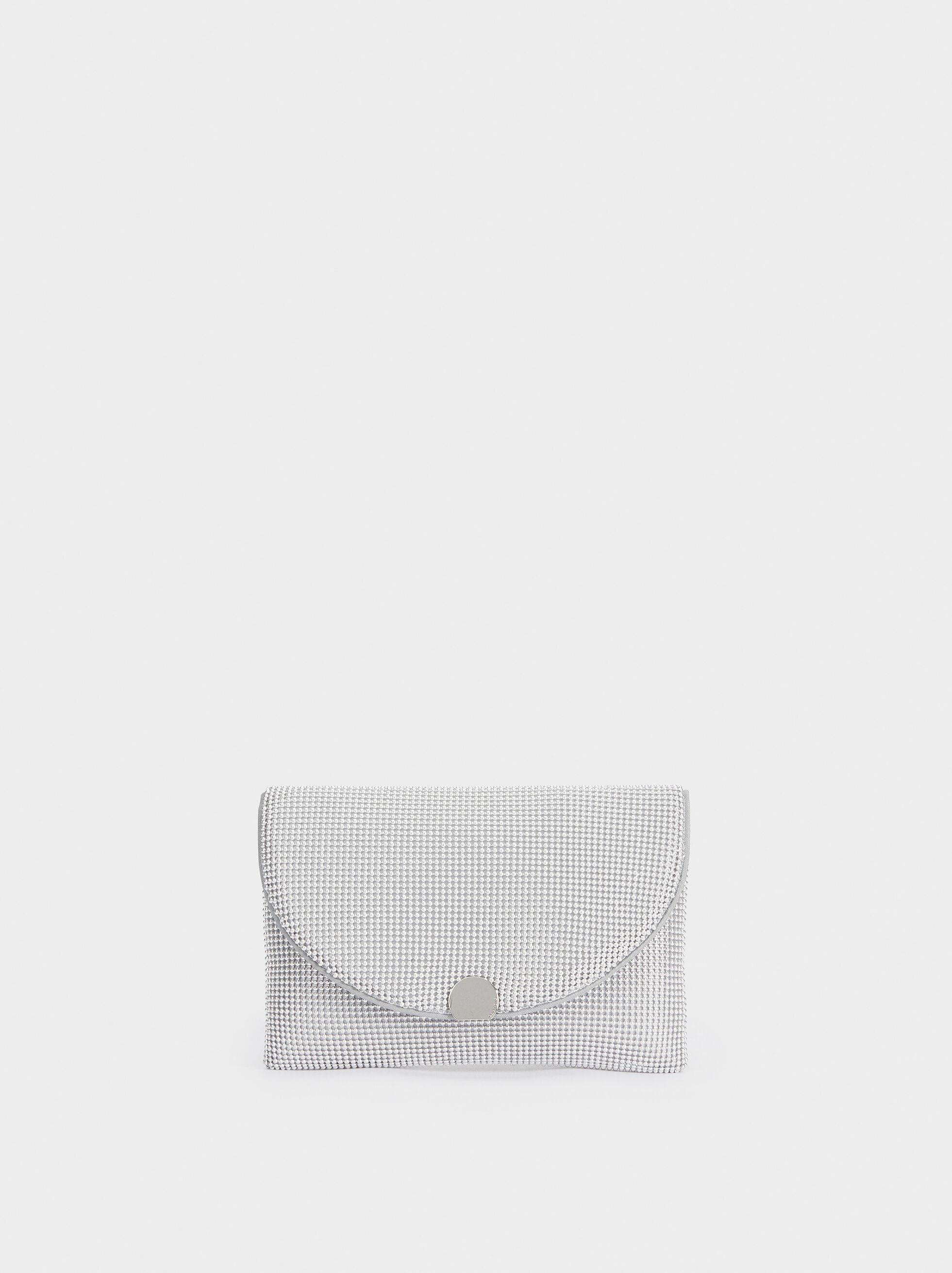 Mesh Party Clutch, , hi-res
