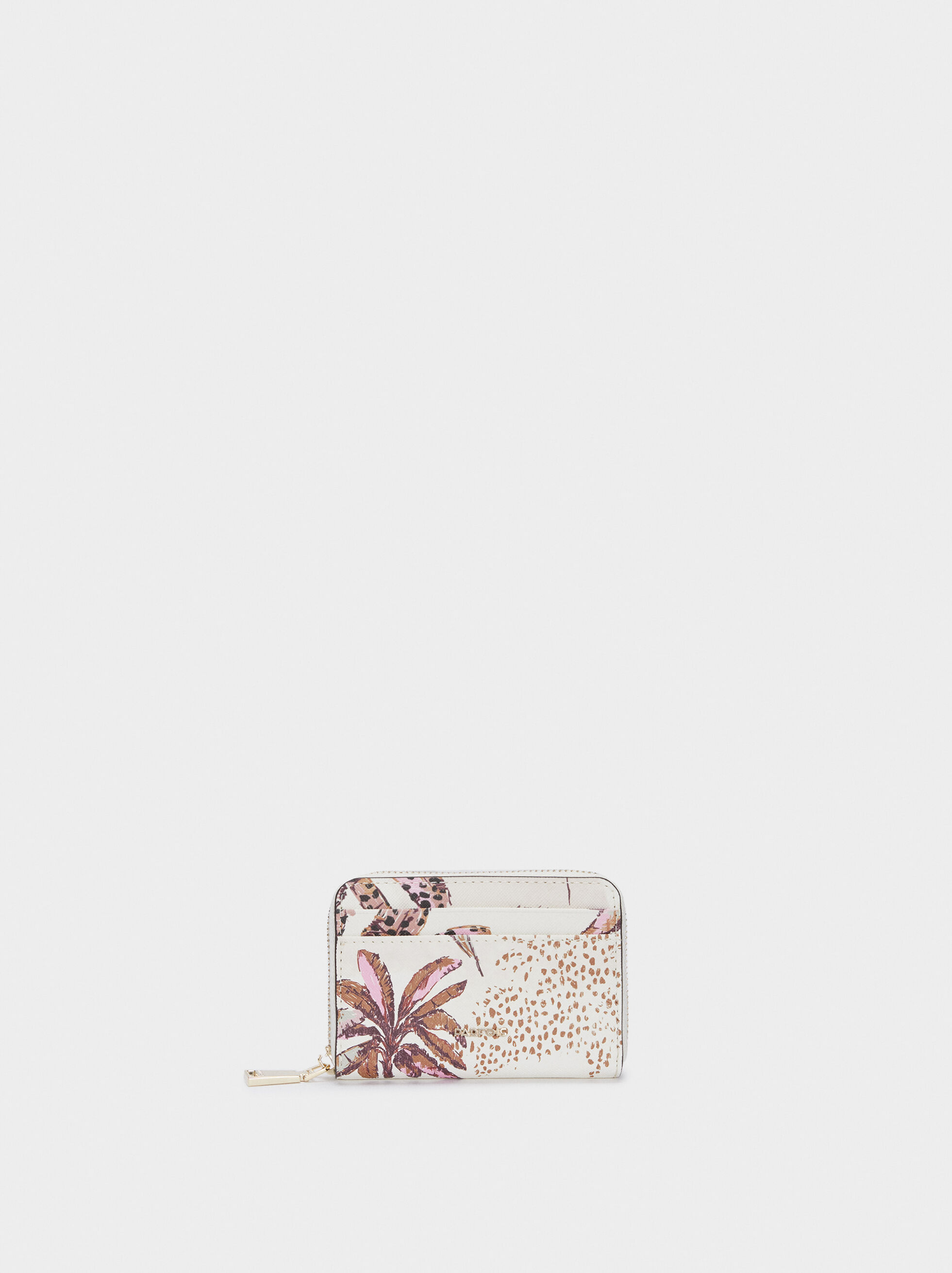 PO1871 Porte ordonnance et carte vitale Motif Petites fleurs multicolores R/éf