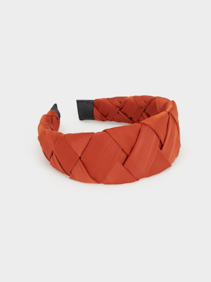 Here And Now Headband, Orange, hi-res