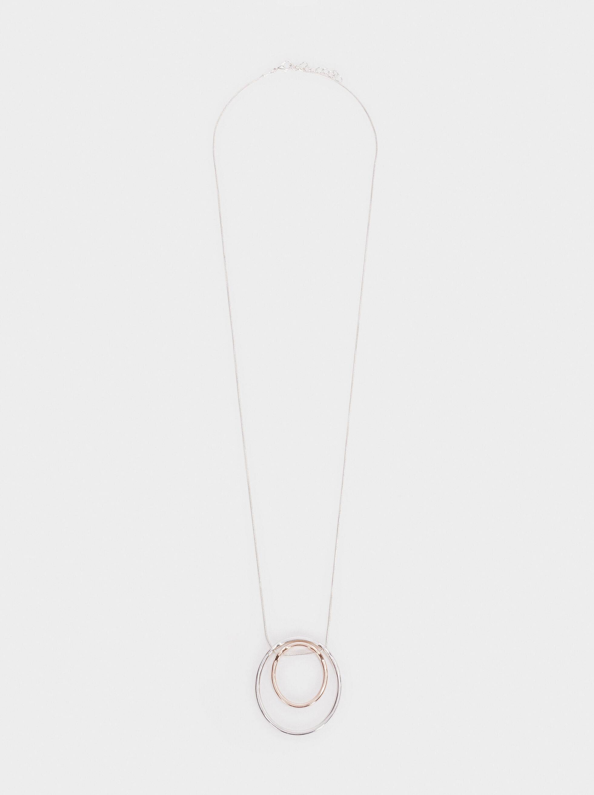 Basic Long Necklace, Multicolor, hi-res