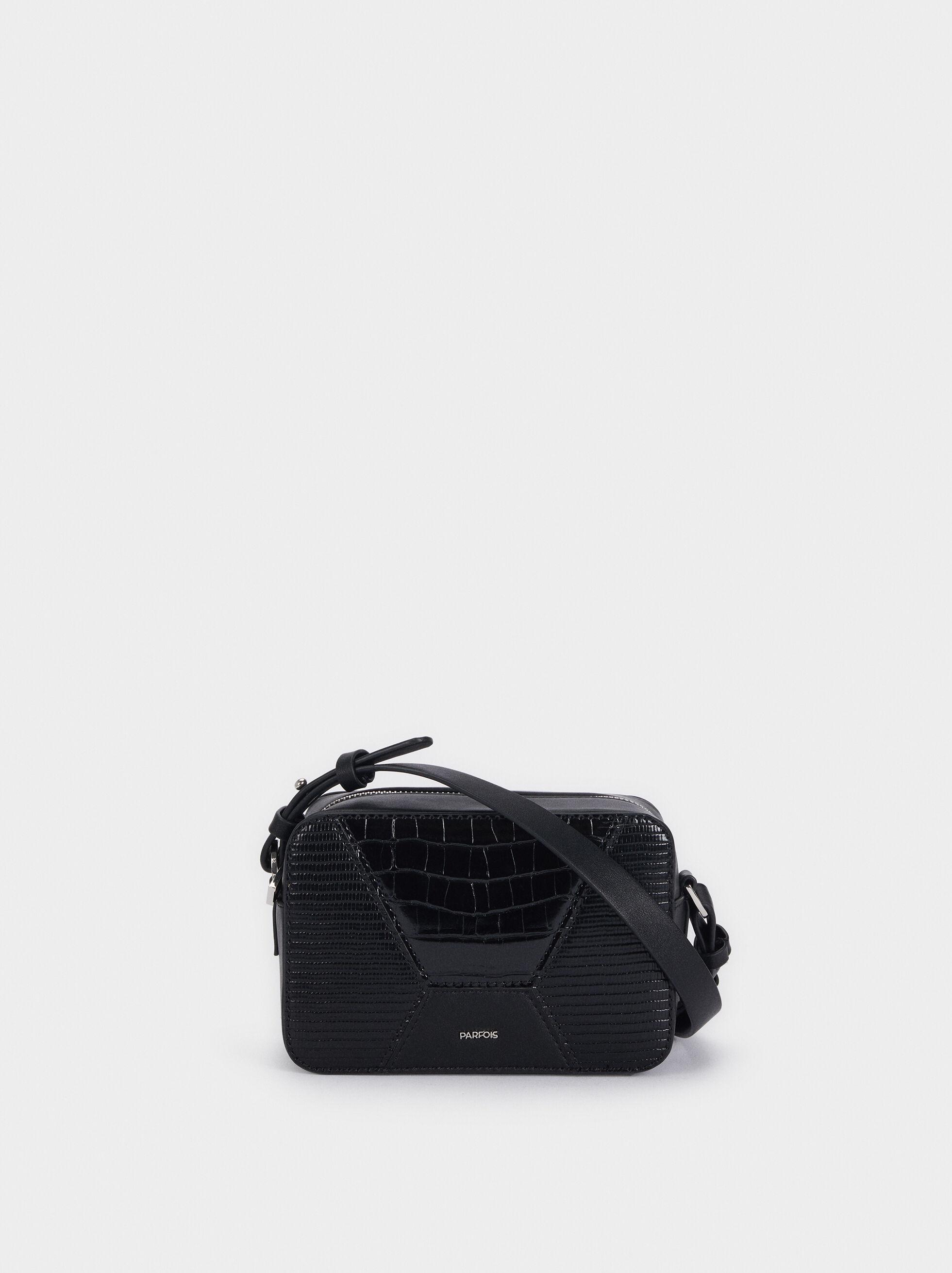 Patchwork Design Crossbody Bag, , hi-res
