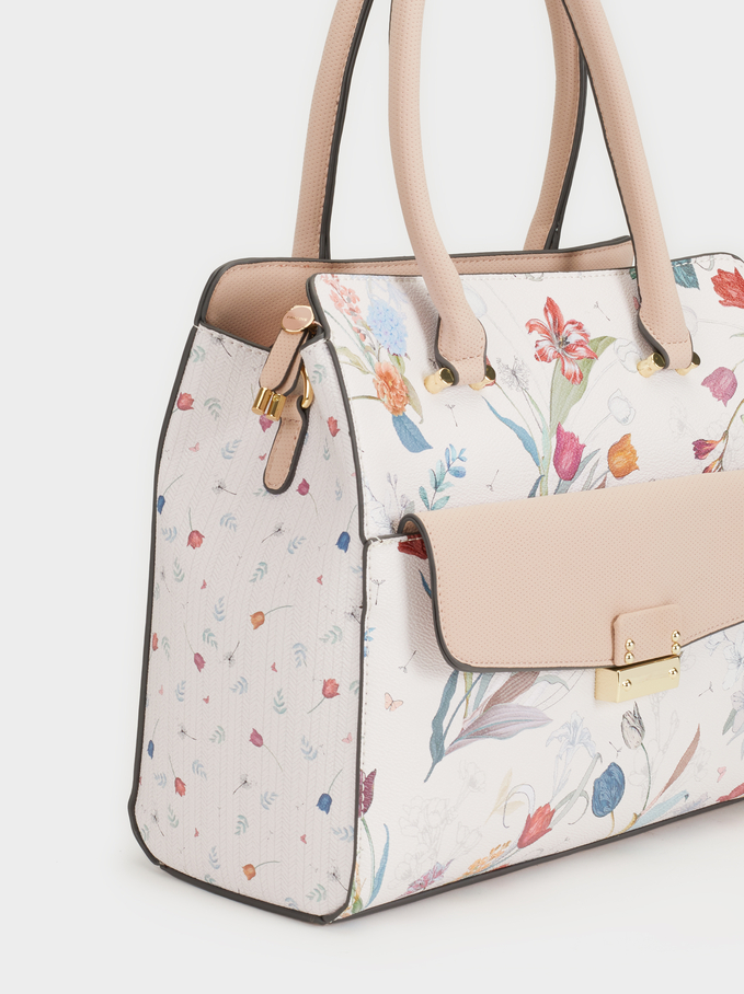 Magnoli Tote Bag, Pink, hi-res