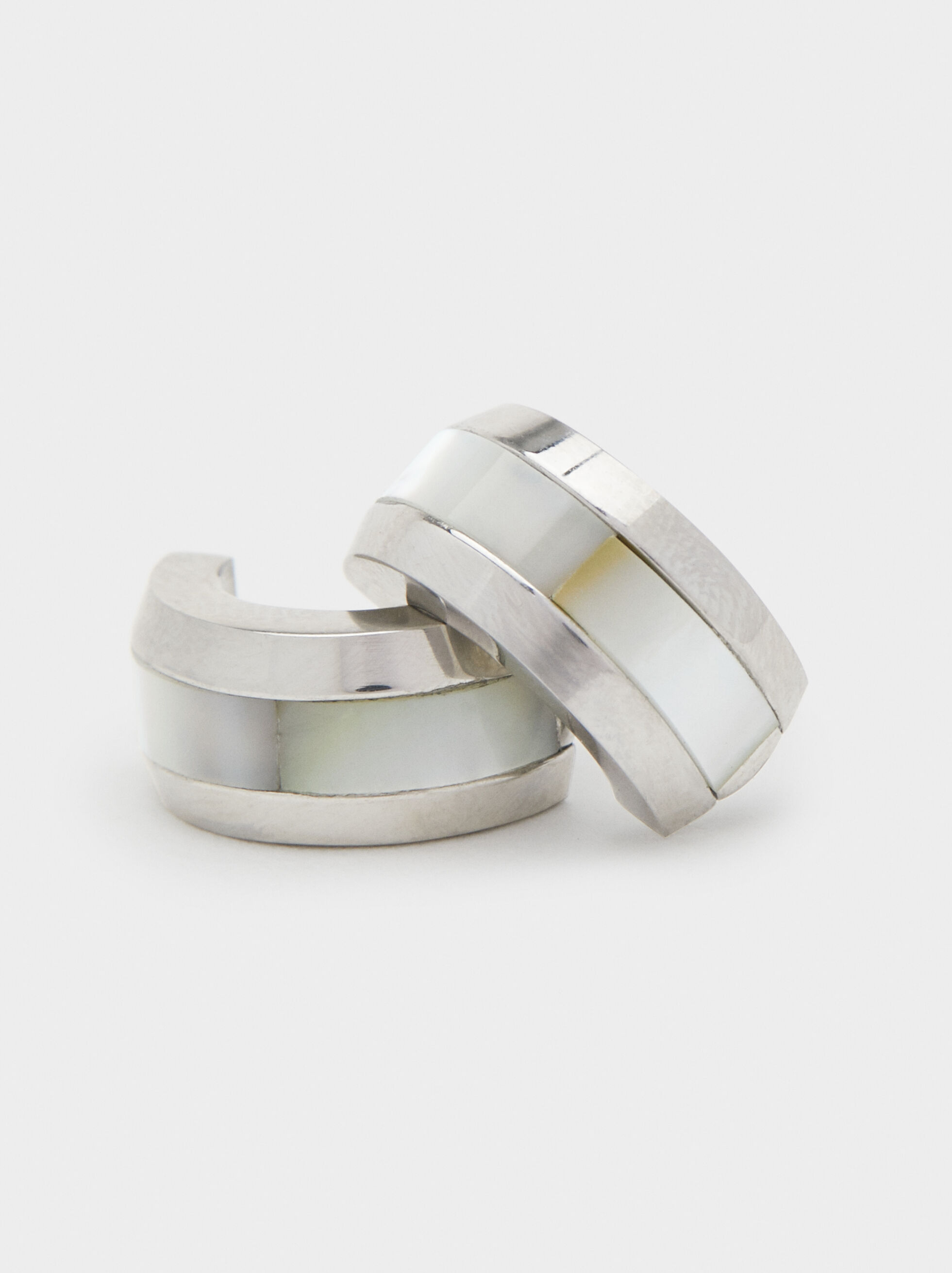Steel Studs, Silver, hi-res
