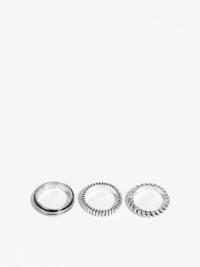 Basic Ring, Silver, hi-res