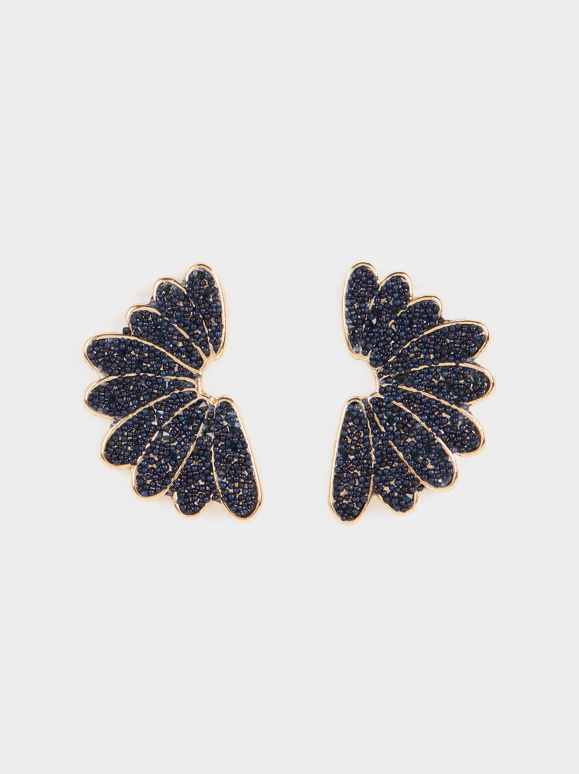 Savage Party Short Earrings, Blue, hi-res