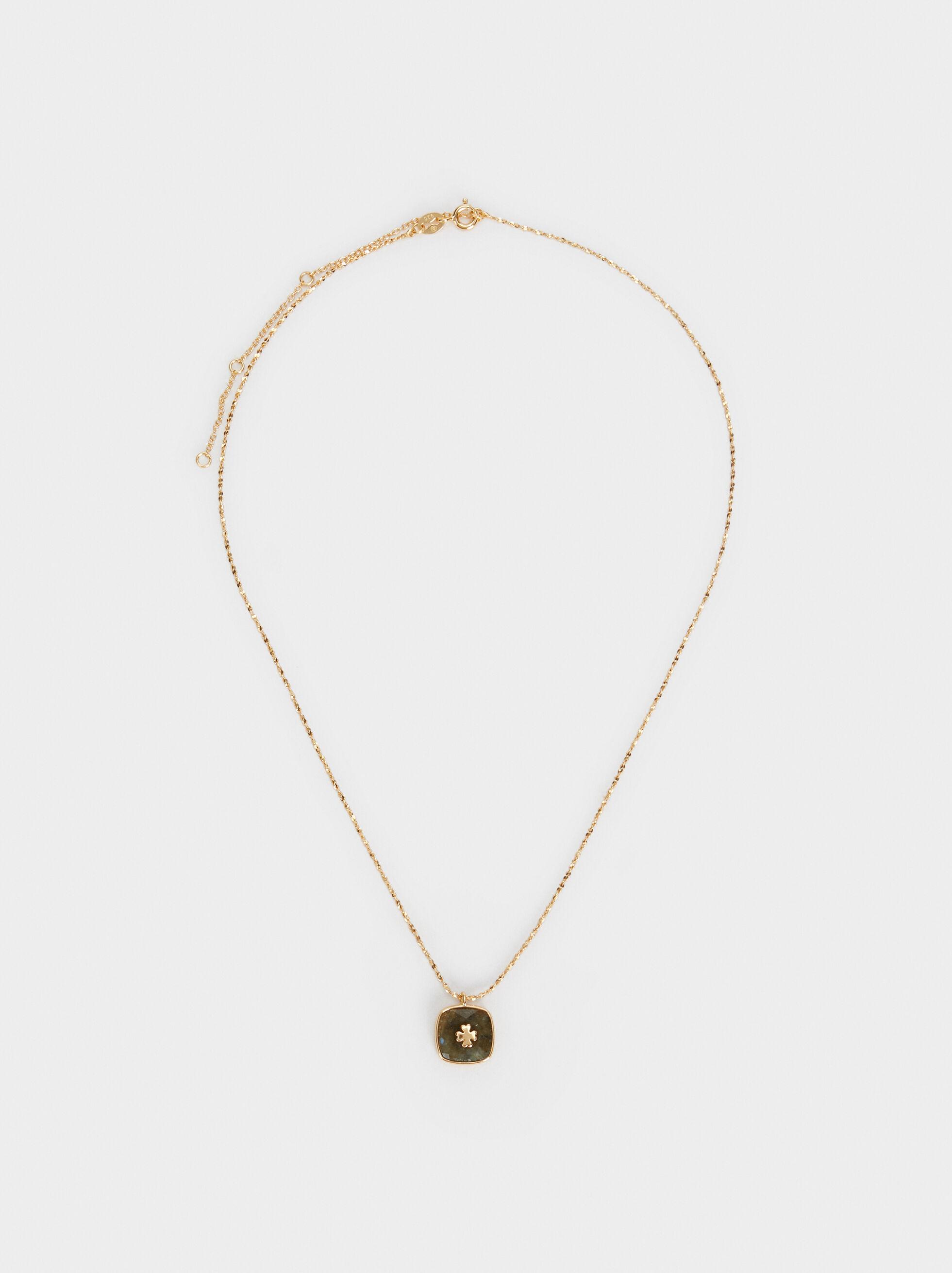 925 Silver Cross Necklace, , hi-res