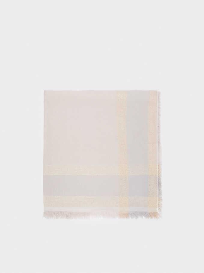 Foulard De Cérémonie Imprimé, Rose, hi-res