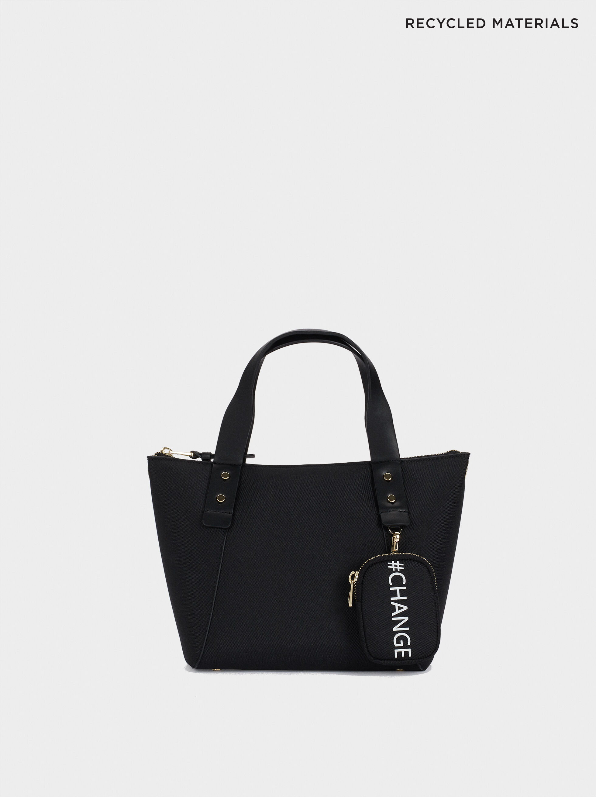 Shopper Bag Made With Recycled Materials, , hi-res