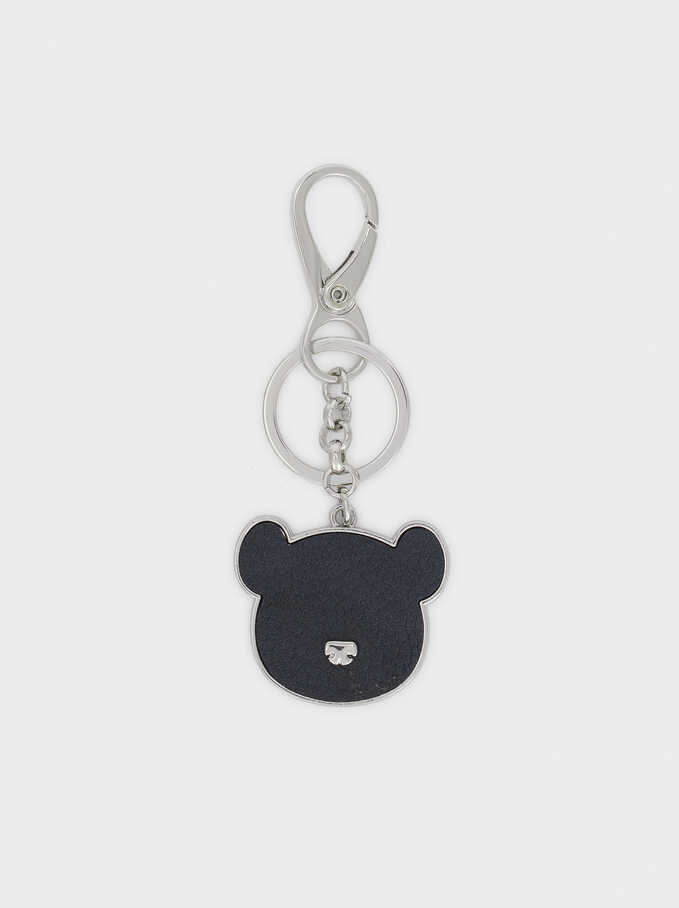 Bear Key Chain, Blue, hi-res
