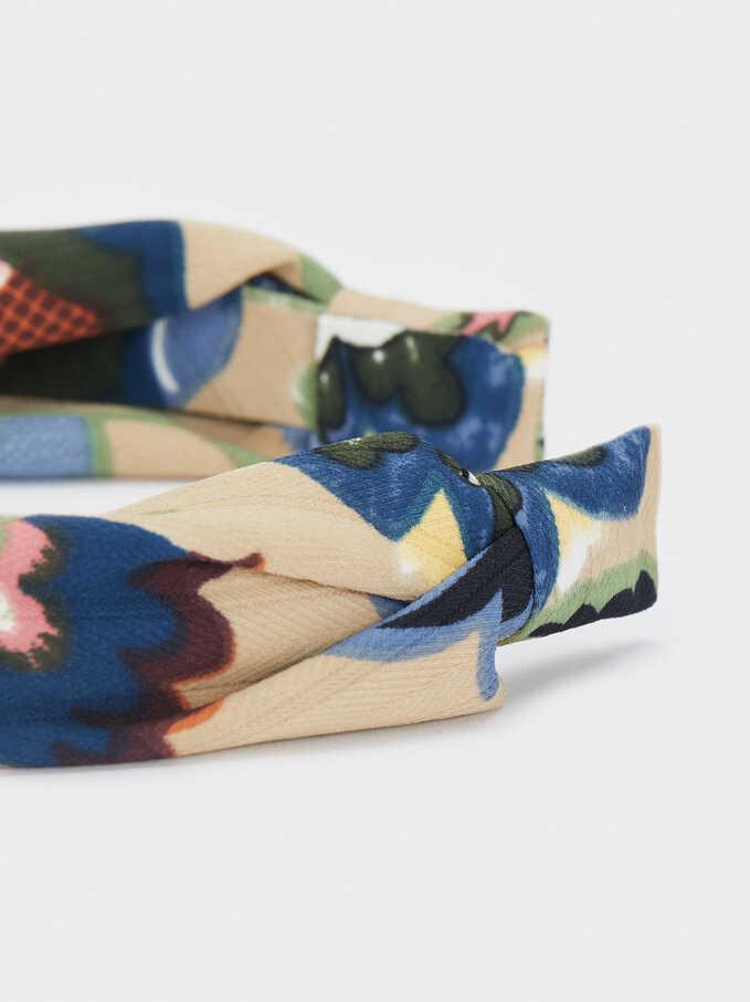 Turban-Style Headband, Multicolor, hi-res