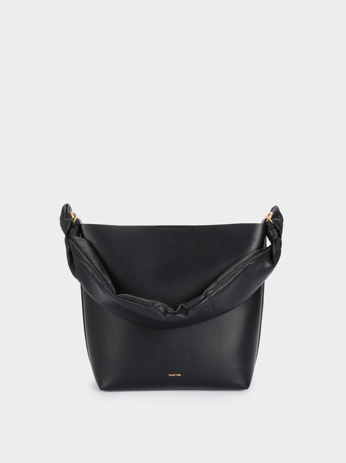 Two-Way Crossbody Bag, Black, hi-res