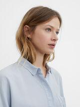 Shirt With Pocket, Blue, hi-res