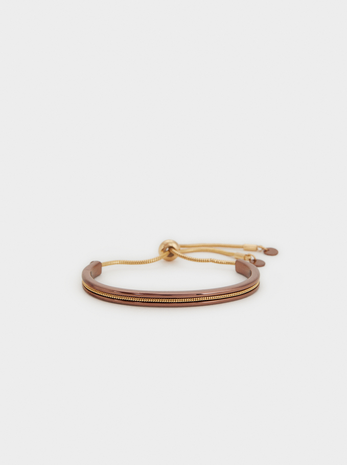Blog Elastic Bracelet, Multicolor, hi-res