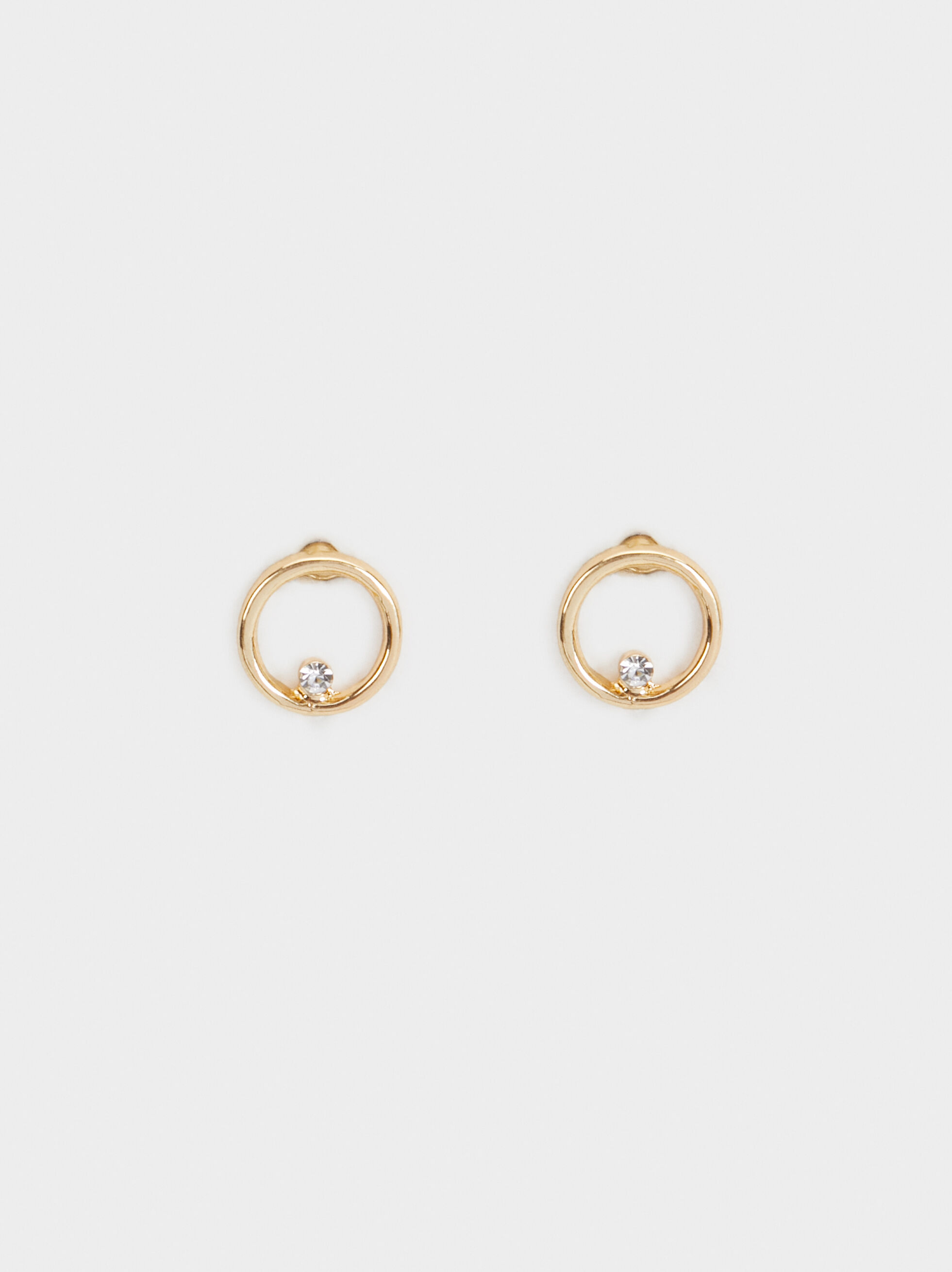 Golden Delicates Short Earrings, , hi-res