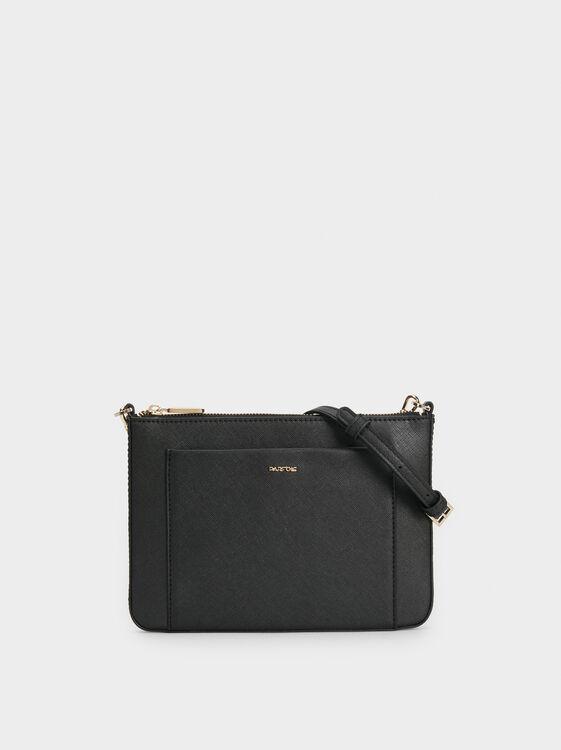 Plain Crossbody Bag, , hi-res