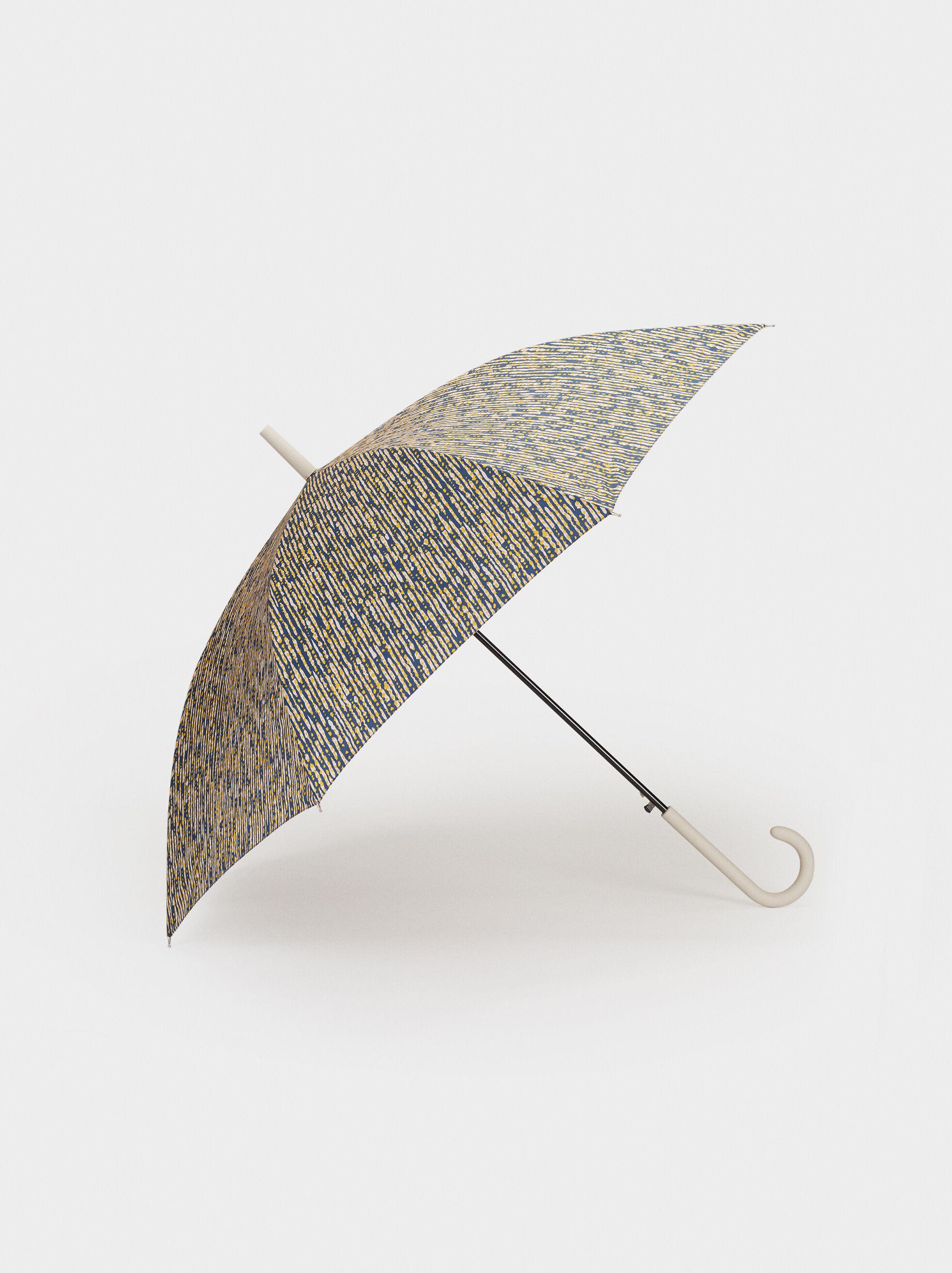 Printed Large Umbrella, Multicolor, hi-res