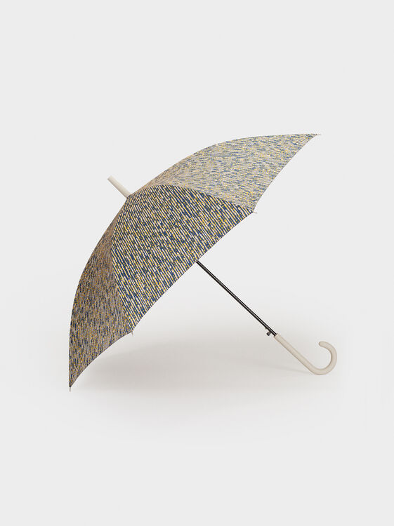 Printed Large Umbrella, Multicolor, hi-res