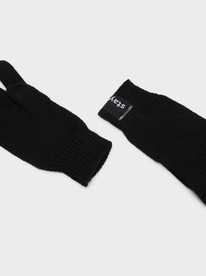 Stay Cool Gloves, Black, hi-res