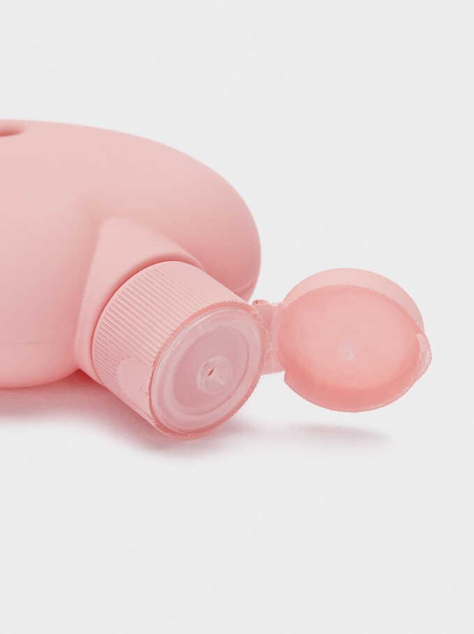 Hand Sanitizer Holder, Pink, hi-res