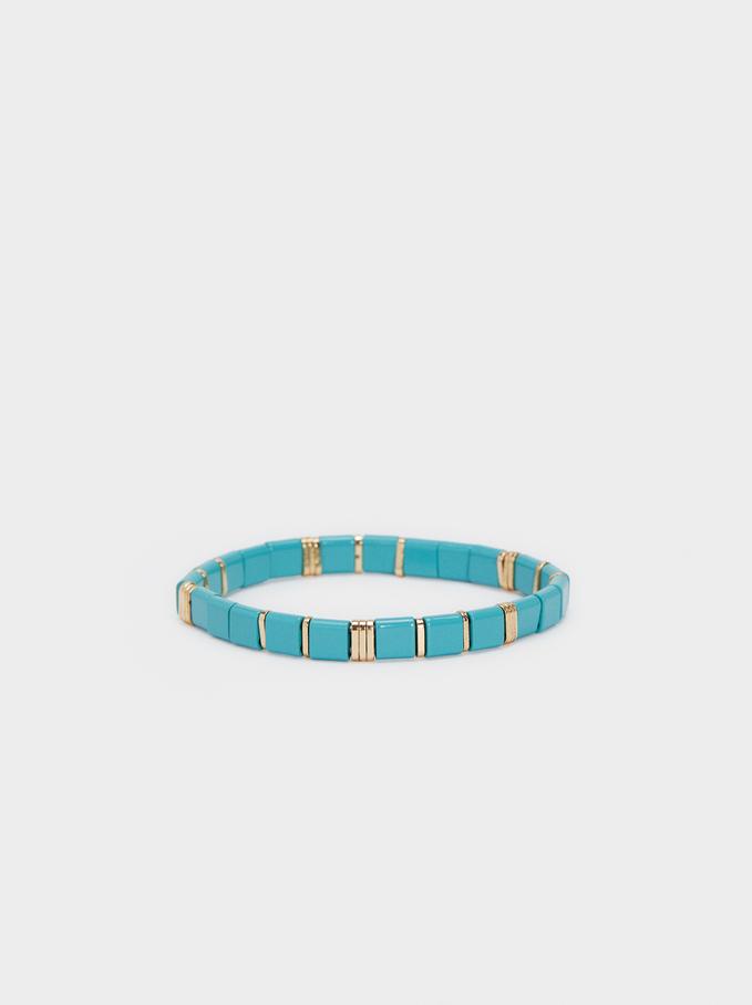 Recife Elastic Bracelet, Beige, hi-res