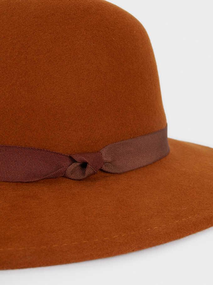 Wool Hat, Orange, hi-res